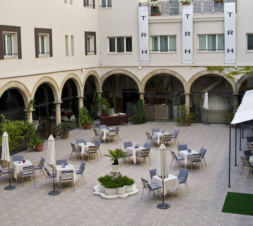 Fassade Hotel TRH Ciudad de Baeza Hotel TRH Ciudad de Baeza Baeza